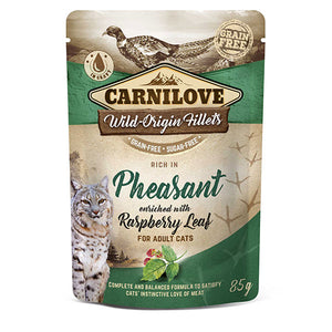 Carnilove Pheasant with Raspberry Leaf (Wet Pouch)