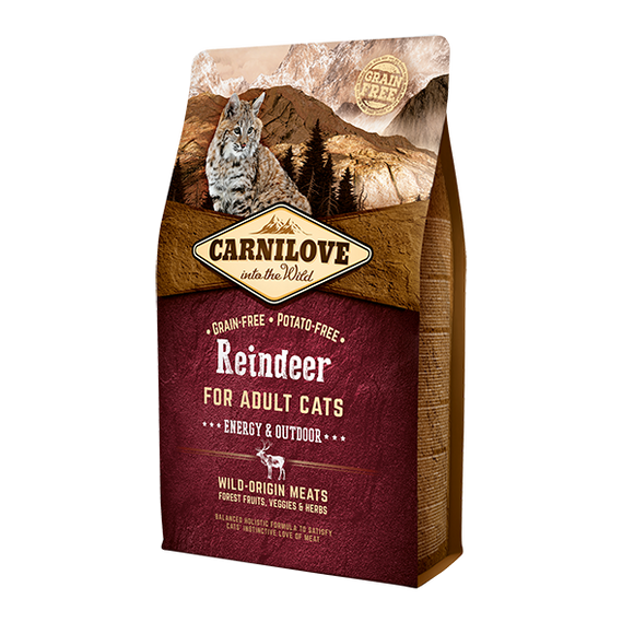 Carnilove Reindeer Dry Cat Food