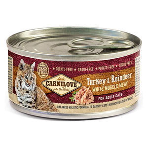 Carnilove Turkey & Reindeer Wet Cat Food