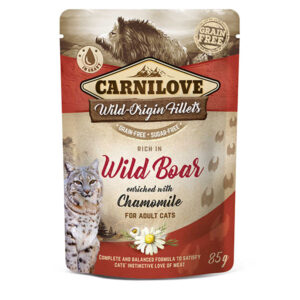 Carnilove Wild Boar with Chamomile (Wet Pouch)