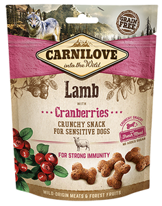 Carnilove Crunchy Snack Lamb with Cranberries