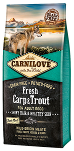 Carnilove Fresh Carp & Trout Dry Dog Food