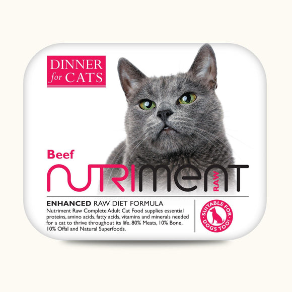 Nutriment Dinner for Cats Beef 175g