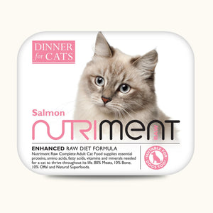Nutriment Dinner for Cats Salmon 175g