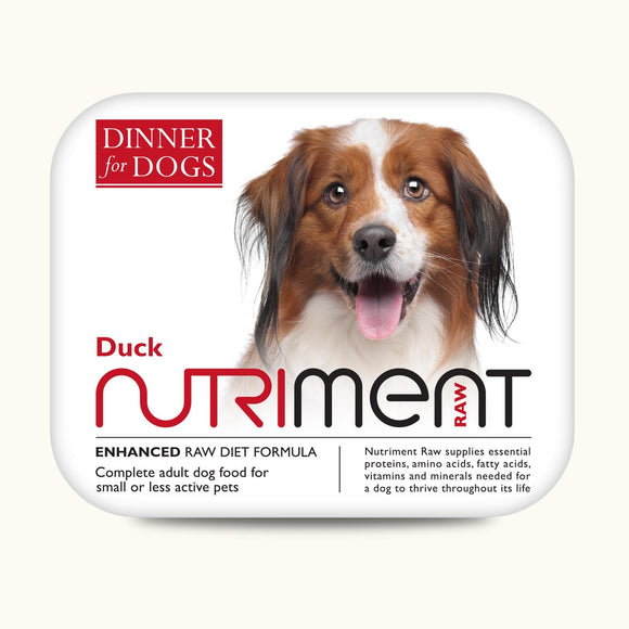 Nutriment Duck Dinner for Dogs 200g