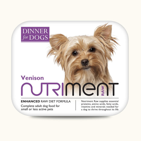 Nutriment Venison Dinner for Dogs 200g