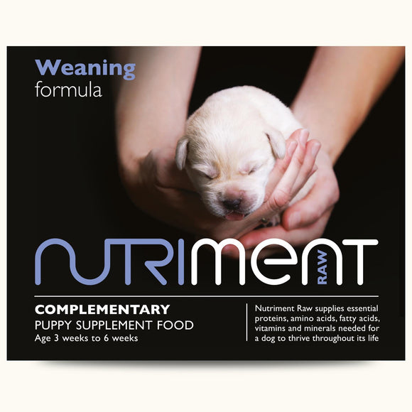 Nutriment Weaning Paste 500g