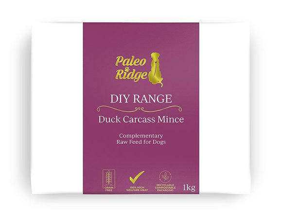Paleo Ridge Duck Carcass Mince 1kg