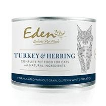 Eden Turkey & Fish Cat Tin