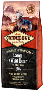 Carnilove Lamb & Wild Boar Dry Dog Food