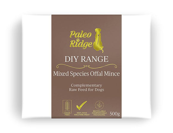 Paleo Ridge Mixed Species Offal Mix 500g