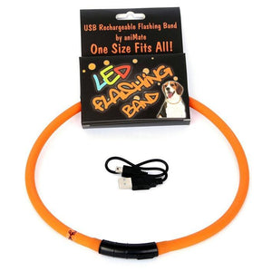 Animate Flashing LED Band Orange