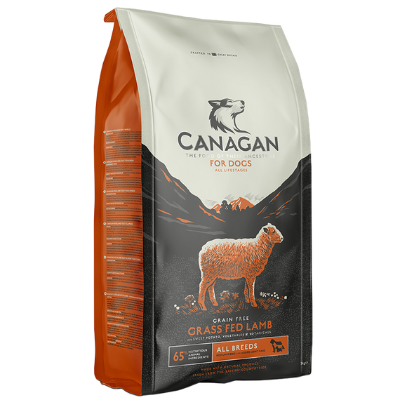 Canagan Grass Fed Lamb For Dogs