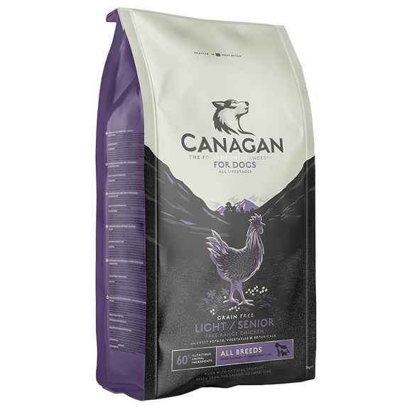 Canagan Light/Senior Free Range Chicken For Dogs
