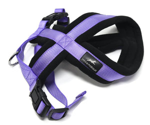 Makauri Premium Fleece Harness - Purple Medium