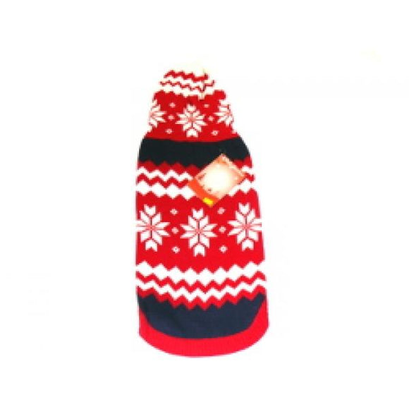 XMAS Animate Snowflake Hooded Jumper 8
