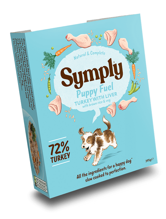Symply Tray Puppy - Turkey with Liver