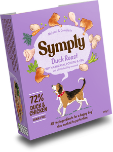 Symply Tray Adult Grain Free - Duck Roast