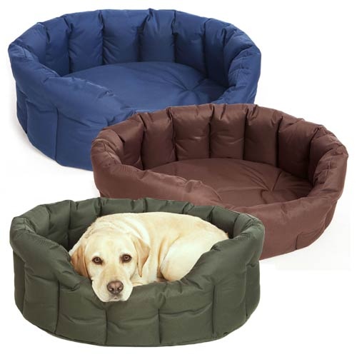 P&L Waterproof Oval Drop Fronted Softee Bed