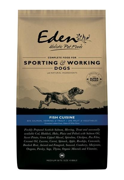 Eden Fish Cuisine Working Dog