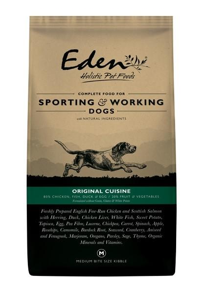 Eden Original Cuisine Working Dog