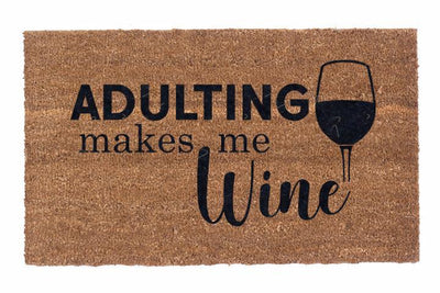 Adulting Makes Me Wine