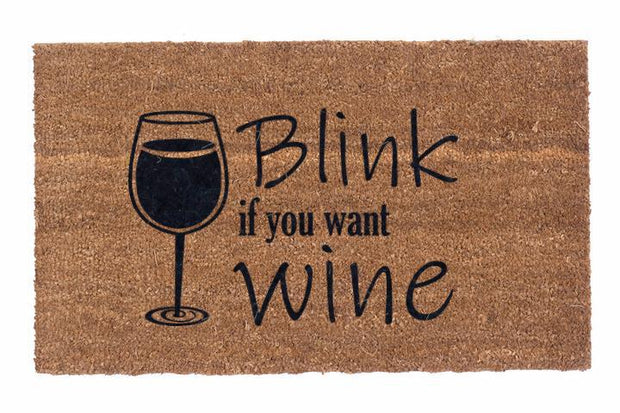 Blink if you want Wine