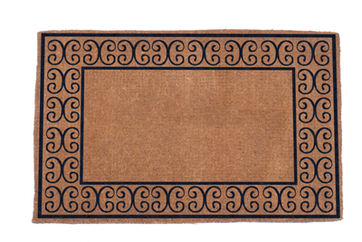 Charleston Border Coco Doormats