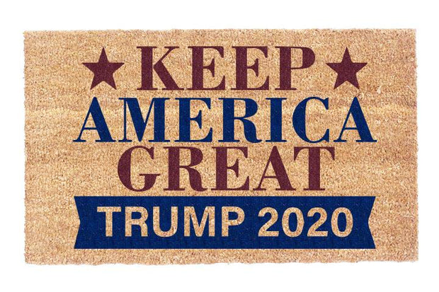 Keep America Great Again 2020 Coco Doormat