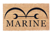 Marine Headquarters Coir Doormat