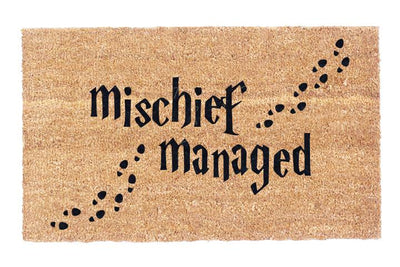 Mischief Managed Coco Doormat