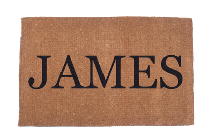 Plain Personalized Doormats