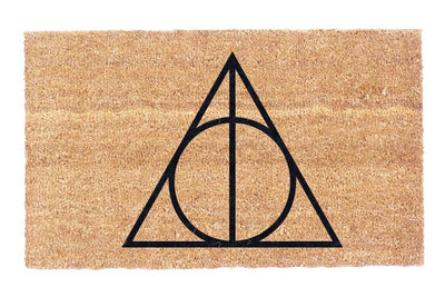 The Deathly Hallows Coco Doormat