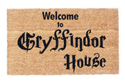Welcome to Gryffindor House Coco Doormat