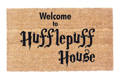 Welcome to Hufflepuff House Coco Doormat