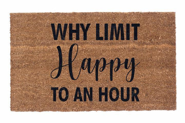 Why Limit Happy to An Hour