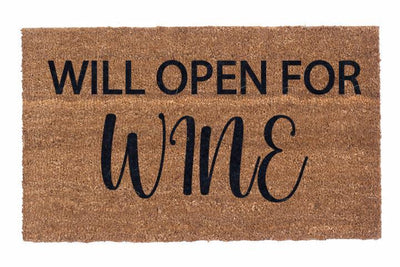 Will Open For Wine