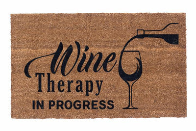 Wine Therapy In Progress