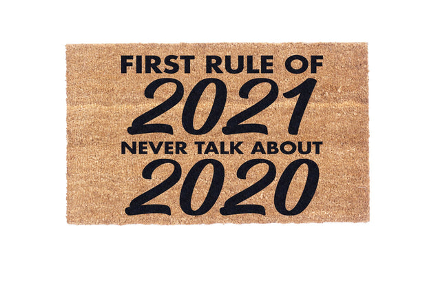 First Rule of 2020