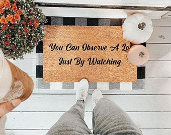 You Can Observe A Lot Just By Watching