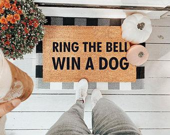 Ring the Bell Win a Dog