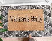 Warlords Only Coir Doormat