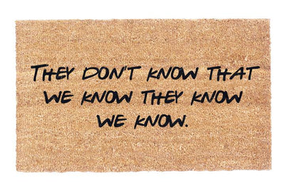 They Don't Know