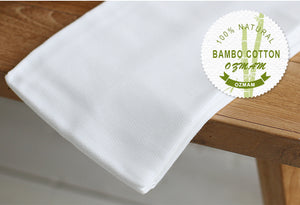 Premium Bamboo Swaddle Blanket/Bath Towel (Pack of 2)