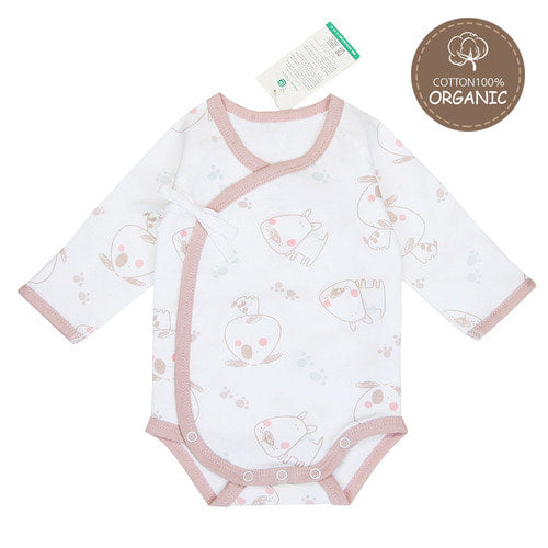 Organic Benet Bodysuit in Doggy by Natura Organic