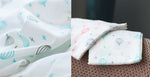 Premium Baby Soft Swaddle Blanket/Bath Towel (Pack of 2)