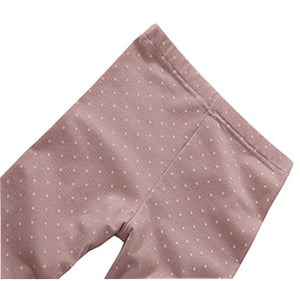 Organic Leggings in Polka Dots (12-24m)