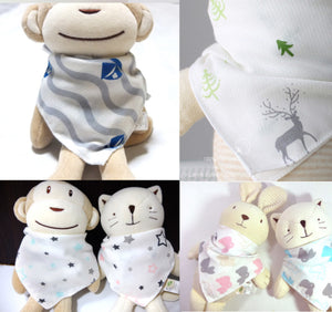 Premium Baby Bandana (Set of 5)