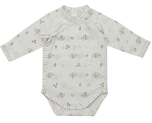 Organic Benet Bodysuit for Summer - Monkey