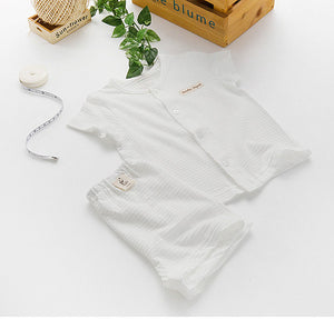 Organic Pajama Set for Summer
